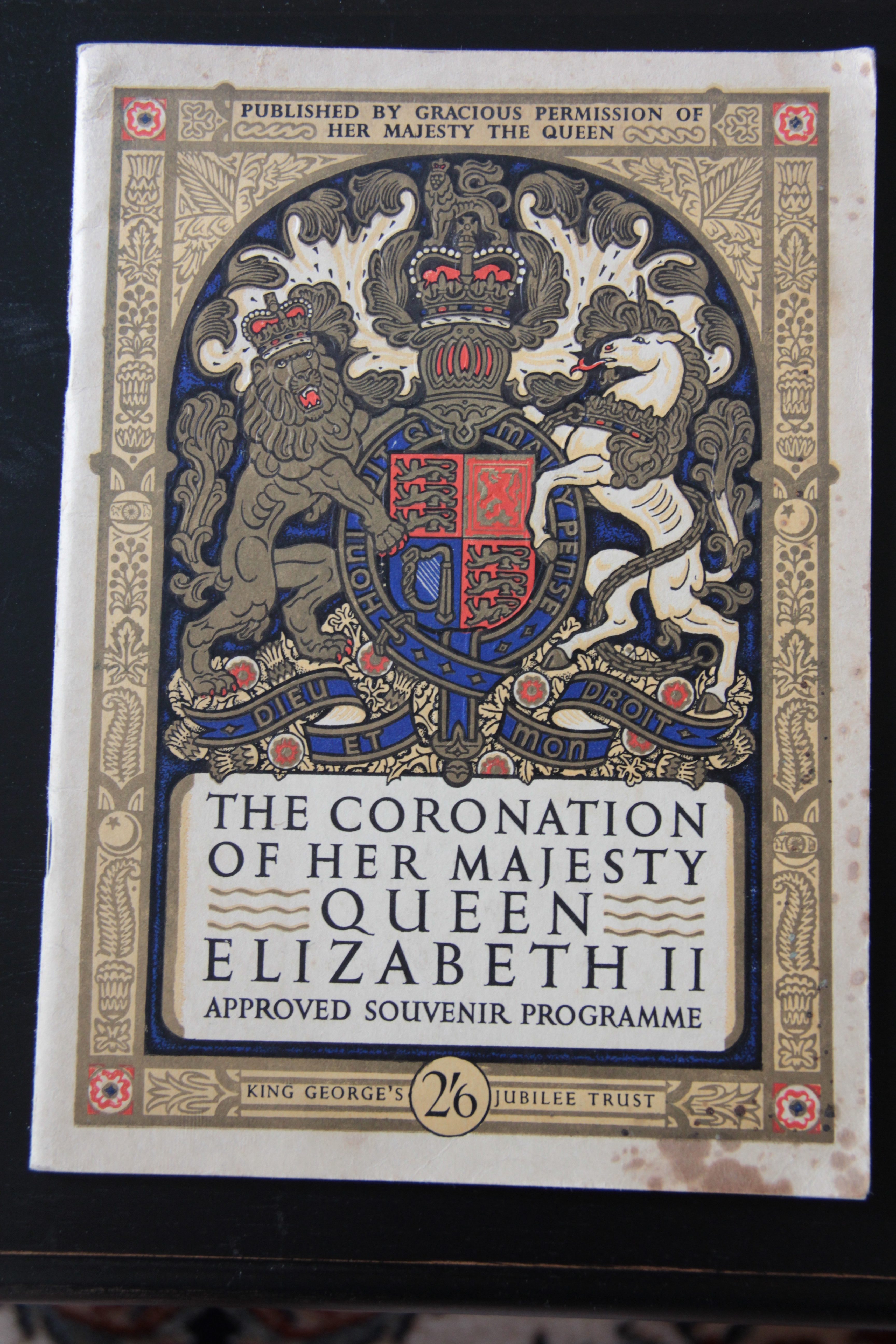 Queen Elizabeth II's Coronation Program